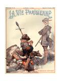 1920s France La Vie Parisienne Magazine Cover Giclee Print