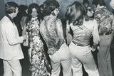 Dancers Doing the Bump 1975 Archival Photo Poster Photo