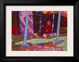 Garden Interval Framed Giclee Print by Simon Fletcher