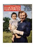 1950s UK Illustrated Magazine Cover Giclee Print