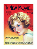 1930s USA The New Movie Magazine Magazine Cover Giclee Print