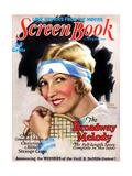1920s USA Screen Book Magazine Cover Impression giclée