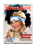 1920s USA Screen Book Magazine Cover Giclee Print