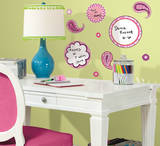 Paisley Dry Erase Peel & Stick Wall Decals Wall Decal