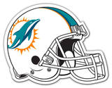 NFL Miami Dolphins Vinyl Magnet Magnet