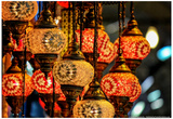 Lanterns at Grand Bazaar Istanbul Turkey Posters