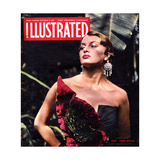 1940s UK Illustrated Magazine Cover Giclee Print
