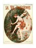 1920s France La Vie Parisienne Magazine Cover Print