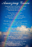 Amazing Grace Lyrics Poster Prints