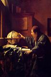 Johannes Vermeer The Astronomer Poster Poster