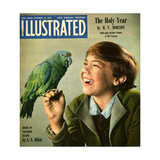 1940s UK Illustrated Magazine Cover Giclee Print