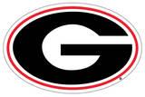 NCAA Georgia Bulldogs Logo Vinyl Magnet Magnet