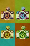 Camera Vintage Style Pop Art Prints