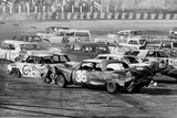 Demolition Derby 1974 Archival Photo Poster Print