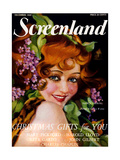 1920s USA Screenland Magazine Cover Giclee Print