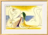 Sur la Plage, 1961 Prints by Pablo Picasso