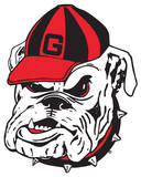 NCAA Georgia Bulldogs Mascot Vinyl Magnet Magnet