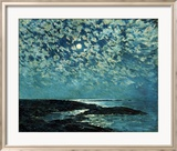 Moonlight, Isle of Shoals, 1892 Prints by Childe Hassam
