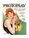 1920s UK Photoplay Magazine Cover Giclee Print