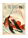 1920s France La Vie Parisienne Magazine Cover Photo