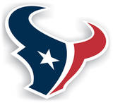 NFL Houston Texans Vinyl Magnet Magnet