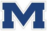 NCAA Mississippi Rebels Vinyl Magnet Magnet
