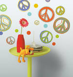 Mod Peace Signs Peel & Stick Wall Decals Wall Decal