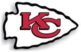 NFL Kansas City Chiefs Vinyl Magnet Magnet