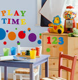 Numbers Primary Peel & Stick Wall Decals Wall Decal