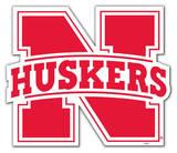 NCAA Nebraska Cornhuskers Vinyl Magnet Magnet
