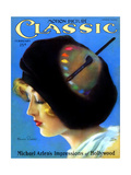 1930s USA Motion Picture Classic Magazine Cover Giclee Print