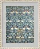 Dove and Rose Fabric Design, c.1879 Gerahmter Giclée-Druck von William Morris