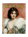 1920s UK Picture Play Magazine Cover Giclee Print