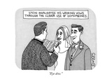 """Eye dew."" - New Yorker Cartoon Premium Giclee Print by J.C. Duffy"