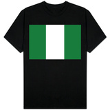 Nigeria National Flag T-shirts