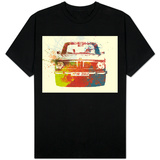 Bmw 2002 Front Watercolor 2 T-Shirt