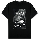 Atlas Shrugged - Who is John Galt Shirts