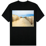 Quiet Beach T-shirts