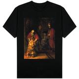 Returen til den fortapte sønn, ca. 1668-1669 Skjorter