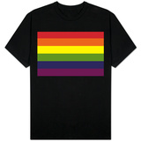 Gay Pride Rainbow Flag T-Shirt