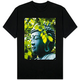 Buddha in Senso-ji Temple Garden Shirt