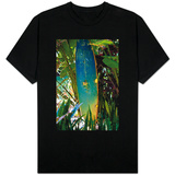 Surfing Shrine in Garden Costa Rica Photo T-Shirt