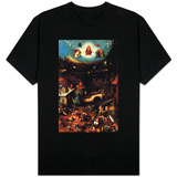 The Last Judgment Center Panel - Hieronymus Bosch T-shirts