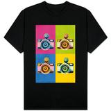 Retro Camera Pop Art Shirts
