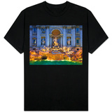 Trevi Fountain T-shirts