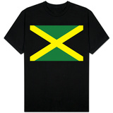 Jamaica National Flag T-shirts