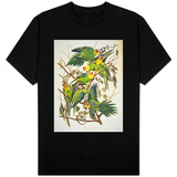 "Carolina Parakeet, from ""Birds of America,"" 1829 T-shirts"