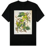 "Carolina Parakeet, from ""Birds of America,"" 1829 T-Shirt"