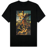 St. Michael Overwhelming the Demon, 1518 T-shirts