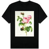 Rosa Centifolia T-skjorter